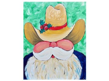 Cowboy Santa Paint Class - Perry