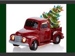 Christmas in July Light Up Vintage Truck - July 28th