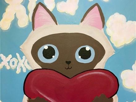 Family Canvas - February Kitty - Cozmo - 02.11.18