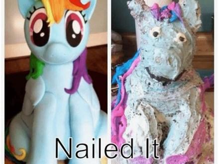 Parent/Child Nailed It! Challenge
