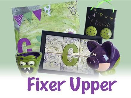 SUMMER CAMP: July 30-August 3 - FIXER UPPER