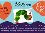 Paint Me A Story - The Very Hungry Caterpillar: March 7th