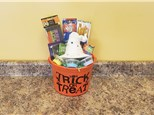 Witch's Hat Lantern Halloween Gift Bucket - Rocky Mountain Chocolate Apple Of Your Choice Included!