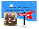Paint with Santa Zoom Event