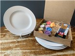 PoGo Kits: Paint Your Own Pottery ToGo! (Rim Dinner Plate(s))