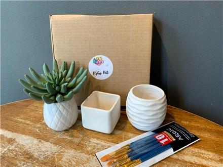 PoGo Kits: Paint Your Own Pottery ToGo! (Plant Parenthood)