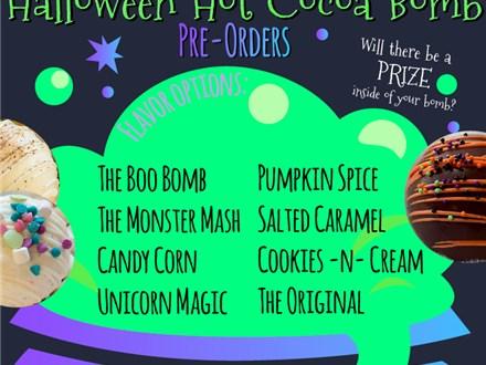 Halloween Week Hot Cocoa Bomb Pre-Order
