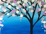 """The Rose Tree"" Canvas Tween Night, Friday April 8th 6-8pm"