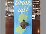 "Two Board Arts to Choose From! ""Drink Up!"" Board Art Saturday, June 17th 7-9p"