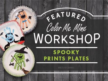 Mommy & Me Hand Print Workshop - 'Spooky Prints'