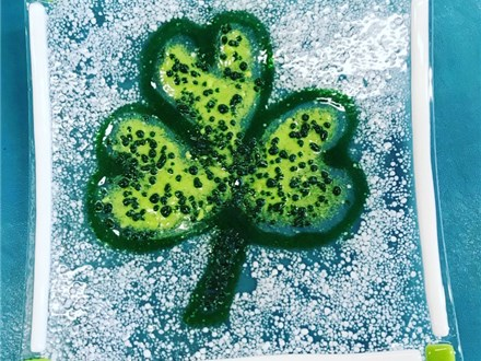St. Patricks Day Fused Glass Class - March 4th