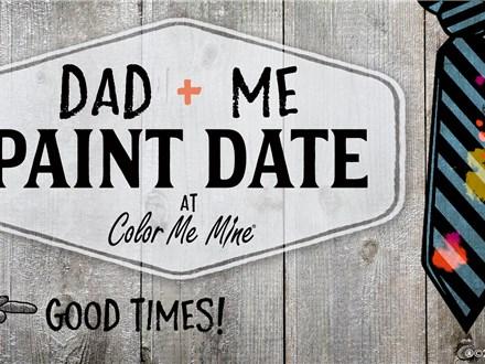 Dad & Me Paint Date: Saturday, June 15th 6:00-8:00PM