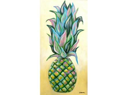 Pineapple - 10x20 canvas