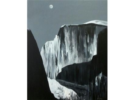 Ansel Adams Half Dome - 16x20