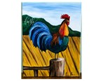 Rooster Paint Class