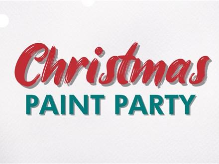 CHRISTMAS PAINT PARTY November 6th - Las Vegas (Summerlin)
