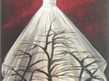 Paint & Sip - Oct. 14 - 7:00 pm - White Sassy Dress