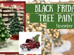 Black Friday Tree Painting Event