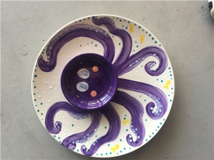Chip 'n' Dip Octo-Pottery Homeschool Art Social! Wednesday, Sept. 12th, ages 12+