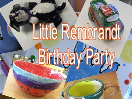 Little Rembrandt Birthday Party