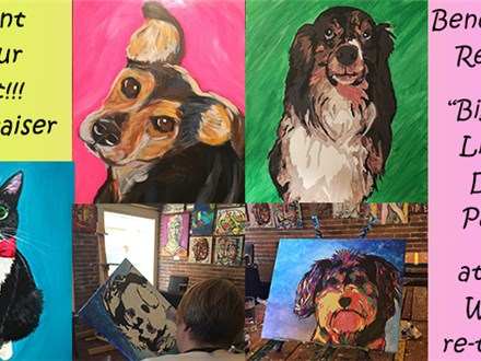 "Enjoy a fun evening of Food, Wine, and Painting your favorite Pet!  A portion of the proceeds will be donated to ""The Biggest Little Dog Park""  in downtown Reno."