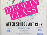 Drop In Week 1 Art Club