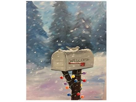 Adult Canvas -Seasons Greetings - Dec 2nd