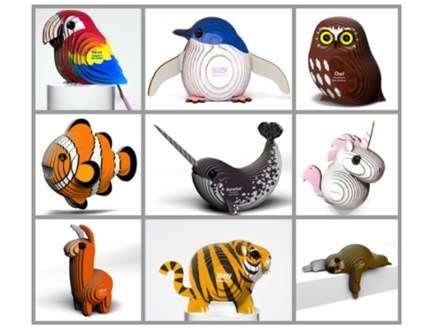 Mini 3D Animal Party