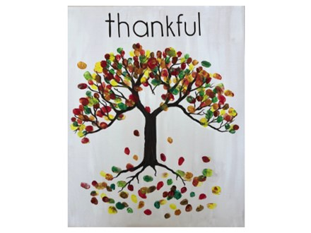 Mt. Washington Thankful Adult Canvas - Oct 24th