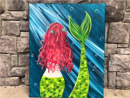 Aug. 9th Mermaid 隆♀️ Canvas