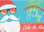 Christmas In July Tree Painting Party - July 25
