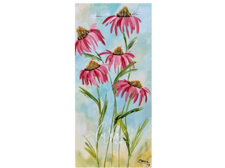 Cone Flowers Paint Class
