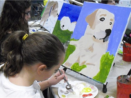 Mt. Washington Kid's Pet Portrait Canvas - Aug 2nd