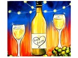 Date Night Celebration - Canvas - Paint and Sip