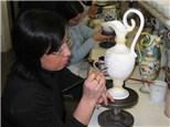 Tuesday Ceramic Classes at Clay Mates Ceramic Cafe