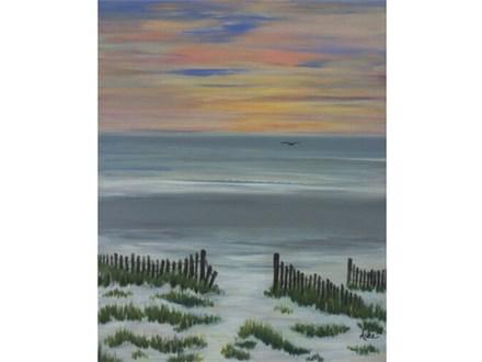 Ocean Sunrise 16x20