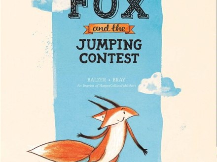 Fox Book Reading and Painting