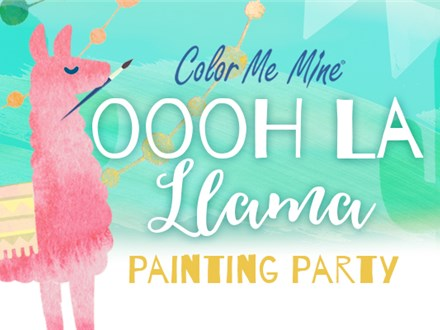 Oooh La Llama Painting Party - September 21, 2019