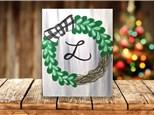 """""""Laurel Wreath"""" Canvas Sip & Paint Event ages 21 & up 12/22/20"""