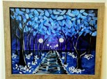 Winters Eve Canvas Class
