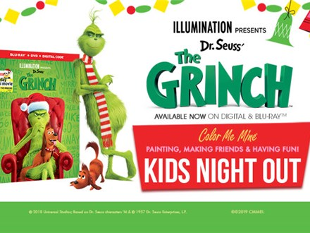 The Grinch Kids Night Out - December 14th