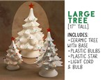"Light Up Christmas Tree - 17"" (LARGE)"