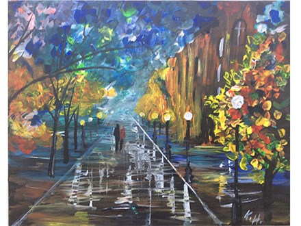 Inspired by Afremov