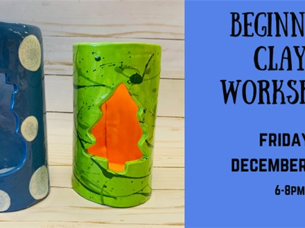 Beginner Clay Workshop - Adult
