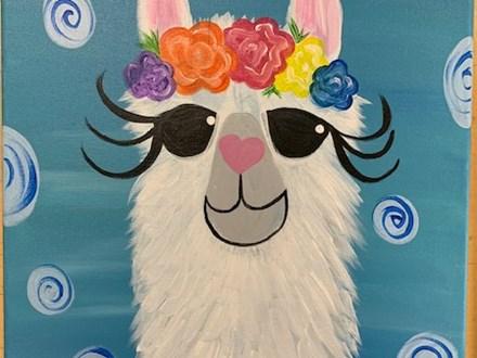 Llama Canvas Class - June 22nd