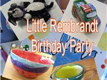Little Rembrandt Birthday Party