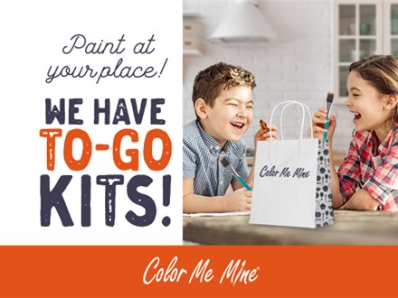 To Go Pottery Painting Kit Pick Up Today 3/21/20 till 5pm