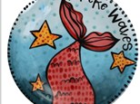 MAKE WAVES CAMP - Mermaid Plate