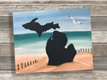 """""""Michigan on the Beach"""" Canvas Class ages 8 & up 8/27/20"""