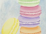 """""""Macaroons"""" Canvas Class, July 13th"""